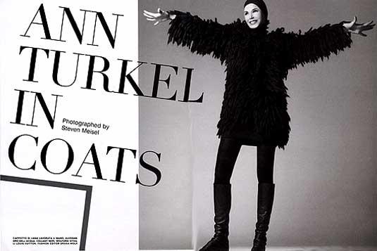 Italian Vogue Ann Turkel